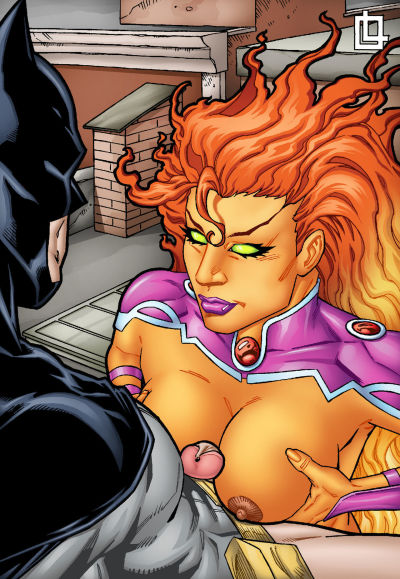 Leandro- Batman and Starfire..