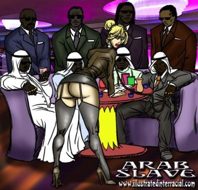Arab Slave- illustrated..