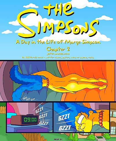 The Simpsons-Day in the Life..