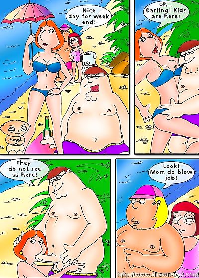 Family Guy – Beach..