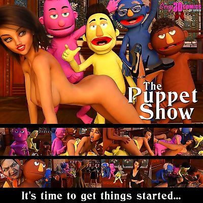 Sexy3dComics- The Puppet Show